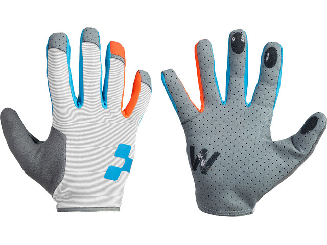 Cube Performance - Guantes largos Mujer - gris/blanco